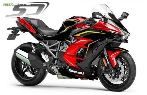 Kawasaki Ninja H2 SX Custom Paint