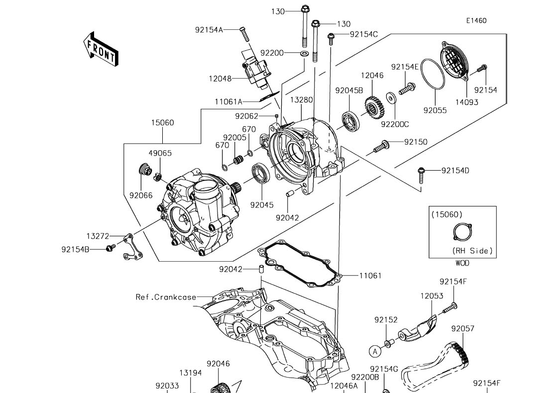 H2SXRiders.net – 2018 Kawasaki Ninja H2 SX Complete Parts Diagrams