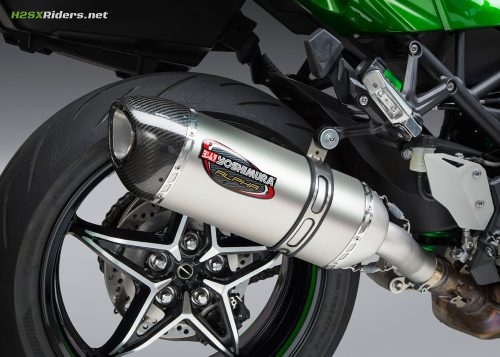 H2SX Yoshimura Alpha Slipon Exhaust Announced