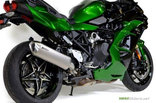 H2 SX Brock's Performance Predator Slipon Exhaust